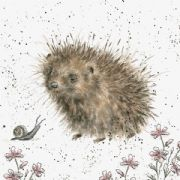 Wrendale A Prickly Encounter Hedgehog Greeting Card